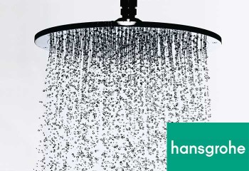 Hansgrohe Shower Heads and Fixtures Exclusively at The Plumbing Place